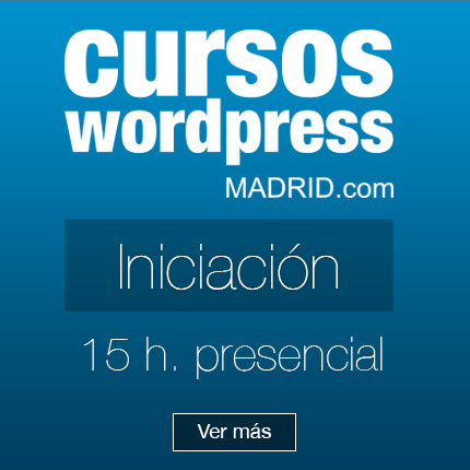 Curso WordPress Iniciación
