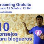 Jerzy en Charla para Papás y Mamás bloggers en Madrid