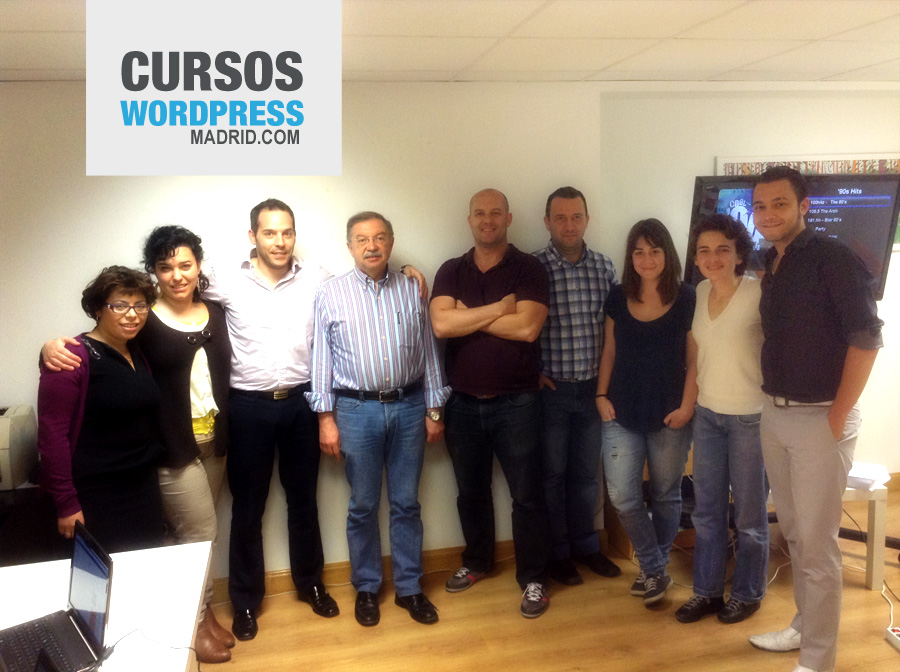 Sexto curso de WordPress Madrid iniciación 2013