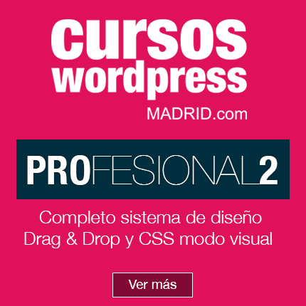 curso de wordpress profesional crea web en un entorno visual