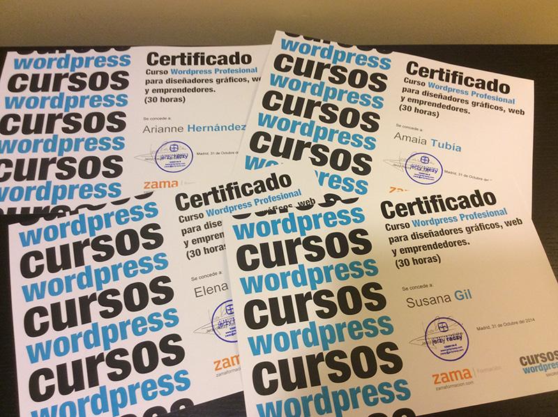 certificados-cursos-wordpress-madrid