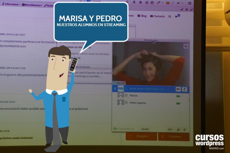 marisa-pedro-alumnos-wordpress-streaming