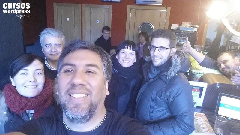 selfie-cursos-wordpress-2015