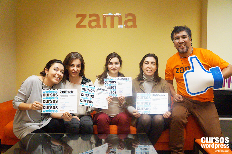 las-chicas-del-curso-wordpress-madrid