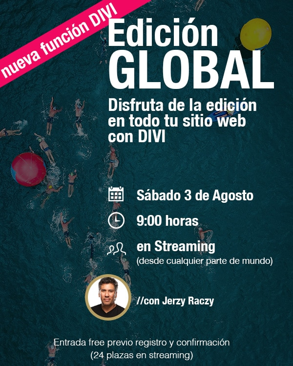 edicion global con divi